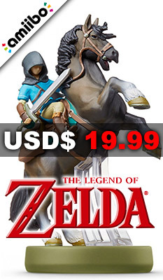 amiibo The Legend of Zelda: Breath of the Wild Series Figure (Link: Rider), Nintendo