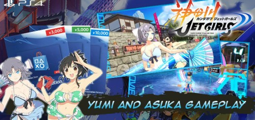 Kandagawa Jet Girls DX Jet Pack, Kandagawa Jet Girls, Marvelous, PS4, PlayStation 4, Japan, release date, gameplay, features, price, trailer, screenshots, pre-order, Limited Edition, DLC, DLC character, Senran Kagura DLC characters, Senran Kagura, Yumi and Asuka gameplay, news, update, new trailer