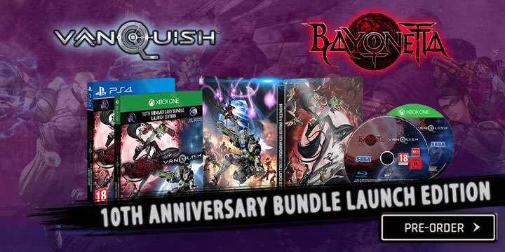 Xbox One X Games 2020.Bayonetta Vanquish 10th Anniversary Bundle Coming In