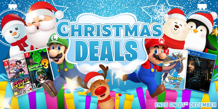 Christmas Deal and Discounts