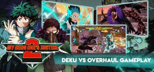 My Hero One's Justice 2, My Hero One's Justice, My Hero Academia, Boku no Hero Academia, PS4, PlayStation 4, Xbox One, XONE, Nintendo Switch, Switch, Pre-order, Bandai Namco Entertainment, Bandai Namco, Boku no Hero Academia: One's Justice 2, characters, update, Japan, Asia, Deku, Overhaul