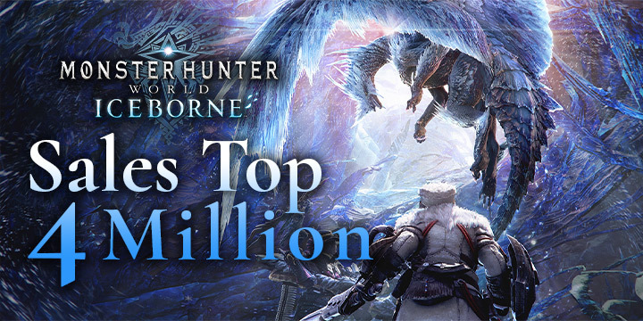 Monster Hunter World: Iceborne Master Edition, Monster Hunter World, Master Edition, PlayStation 4, Xbox One, North America, US, Japan, Asia, Europe, Capcom, update, Australia, sales