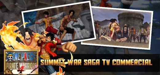 One Piece: Pirate Warriors 4, One Piece, Bandai Namco, PS4, Switch, PlayStation 4, Nintendo Switch, Asia, Pre-order, One Piece: Kaizoku Musou 4, Pirate Warriors 4, Japan, US, Europe, trailer, update, TV Commercial, Summit War Saga, Japanese TV commercial
