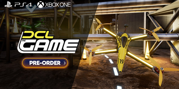 DCL - The Game, DCL Game, Climax Studios, THQ Nordic,North America, US, PS4, playstation 4, xone, xbox one, Europe,release date, gameplay, features,price,pre-order now, trailer, Drone Champions League