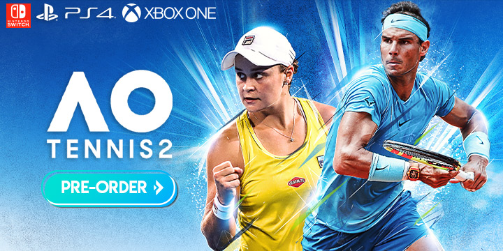 AO Tennis 2,playstation 4, ps4, xone, xbox one, switch, nintendo switch, Big Ant Studios,North America, US, bigben interactive,release date, features,price,pre-order now,tennis video game