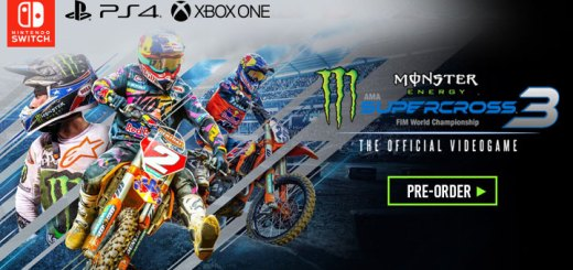 Monster Energy Supercross- The Official Videogame 3, Milestone Srl, Europe, north america, us,release date, gameplay, features,playstation 4, ps4, xone, xbox one, switch, nintendo switch,price, pre-order now, trailer, Monster Energy Supercross 3