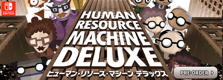 Human Resource Machine Deluxe, ヒューマン・リソース・マシーン デラックス, Flyhigh Works, Nintendo Switch, Switch, Japan, Pre-order