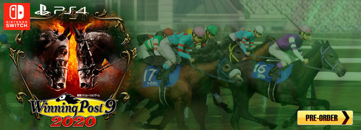 Winning Post 9 2020, Winning Post, PS4, Switch, PlayStation 4, Nintendo Switch, Japan, Pre-order, features, release date, trailer, screenshots