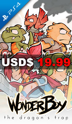 THE DRAGON'S TRAP (MULTI-LANGUAGE) Arc System Works