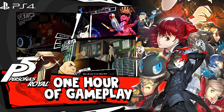 Enjoy 1 Hour Of Persona 5 Royal Goodness In Its New English Gameplay