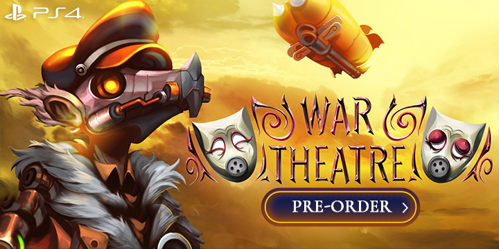 War Theatre, features, Europe, trailer, gameplay, PlayStation 4, PS4, physical edition, Arcade Distillery, War Theatre's, price, pre-order