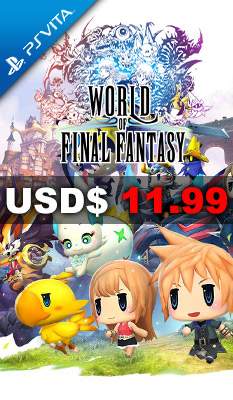 WORLD OF FINAL FANTASY Square Enix
