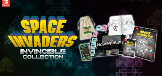 Space Invaders: Invincible Collection, スペースインベーダー インヴィンシブルコレクション, Taito, Special Edition, Famitsu DX Pack, Nintendo Switch, Japan, Switch, Pre-order, gameplay, trailer, features, screenshots