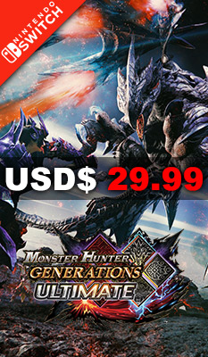 MONSTER HUNTER GENERATIONS ULTIMATE  Capcom