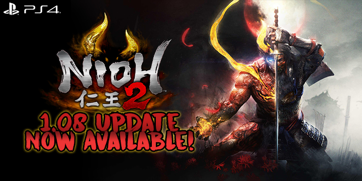 Nioh 2, Nioh, PlayStation 4, PS4, US, Pre-order, Koei Tecmo Games, Koei Tecmo, gameplay, features, release date, price, trailer, screenshots, update, version 1.08, patch notes, news