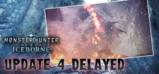 Monster Hunter, Monster Hunter: World, US, Europe, Japan, PS4, XONE, PlayStation 4, Xbox One, updates, Iceborne Expansion, Monster Hunter World: Iceborne, Update 4, delayed
