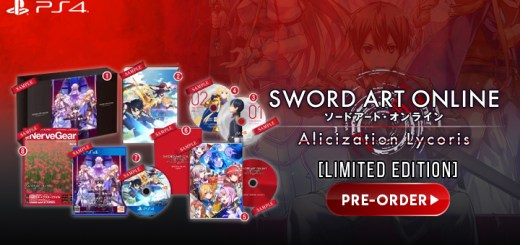 Sword Art Online: Alicization Lycoris, SAO: Alicization Lycoris, Bandai Namco, Japan, Gameplay, Features, PS4, Playstation 4, release date, Limited Edition, SAO Alicization Lycoris Limited Edition, Special Edition