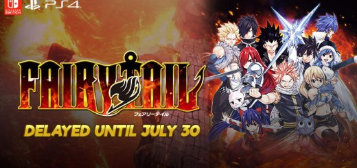 Fairy Tail, PS4, Switch, PlayStation 4, Nintendo Switch, release date, features, price, pre-order, news, update, Japan, Limited Edition, delayed