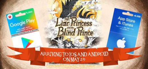 The Liar Princess and the Blind Prince, gameplay, features, release date, price, trailer, screenshots, game update, Japan, iOS, Android