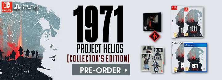 1971 Project Helios, Reco Technology, Collector's Edition, 1971 Project Helios Collector's Edition, Release date, Gameplay, Europe, features, PS4, Playstation 4, Switch, Nintendo Switch, trailer, screenshots, 1971 Project Helios [Collector's Edition]