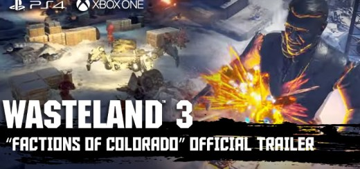 Wasteland 3, inXile Entertainment, Deep Silver , PS4, PlayStation 4, US, North America, Europe, Release Date, gameplay, features, price, pre-order now, trailer, Xbox one, Xone, Factions of Colorado Trailer, new trailer, Factions of colorado