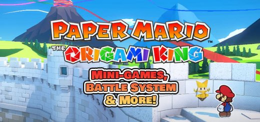 Paper Mario: The Origami King, Paper Mario, Nintendo, Nintendo Switch, release date, gameplay, price, pre-order, Paper Mario The Origami King, trailer, new trailer, news, update, mini games