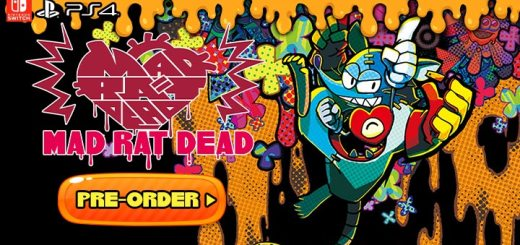 Mad Rat Dead, NIS America, Nippon Ichi Software, PS4, PlayStation 4, US, North America, Japan, release date, features, price, screenshots, trailer, pre-order, マッドラットデッド