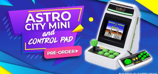 Astro City Mini, Astro City Mini Control Pad, Japan, Sega, Mini Arcade, Release date, Trailer, Features, Astrocity Mini, Sega Arcade