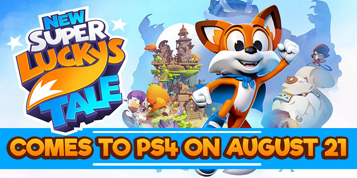 New Super Lucky's Tale, New Super Luckys Tale, PS4, PlayStation 4, Switch, Nintendo Switch, US, Europe Pre-order, Nintendo, Playful, PQube, PS4 release date, news, update