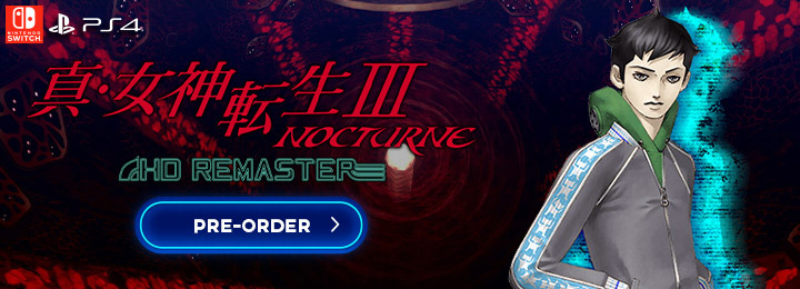 Shin Megami Tensei III: Nocturne HD Remaster, Shin Megami Tensei III, PlayStation 4, Nintendo Switch, Japan, pre-order, gameplay, trailer, screenshots, release date, PS4, Switch, Shin Megami Tensei