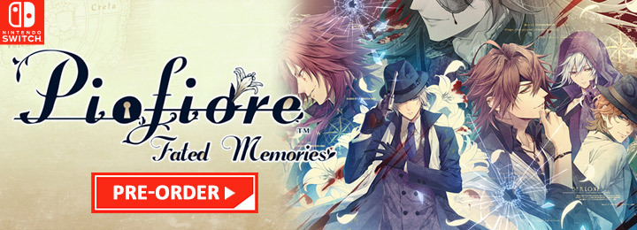 Piofiore: Fated Memories, Piofiore no Banshou: Ricordo, Piofiore, Nintendo Switch, Switch, US, Europe, gameplay, features, release date, price, trailer, screenshots, Aksys Games
