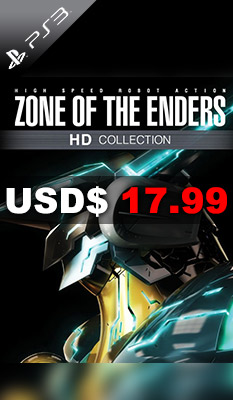 ZONE OF THE ENDERS HD COLLECTION Konami