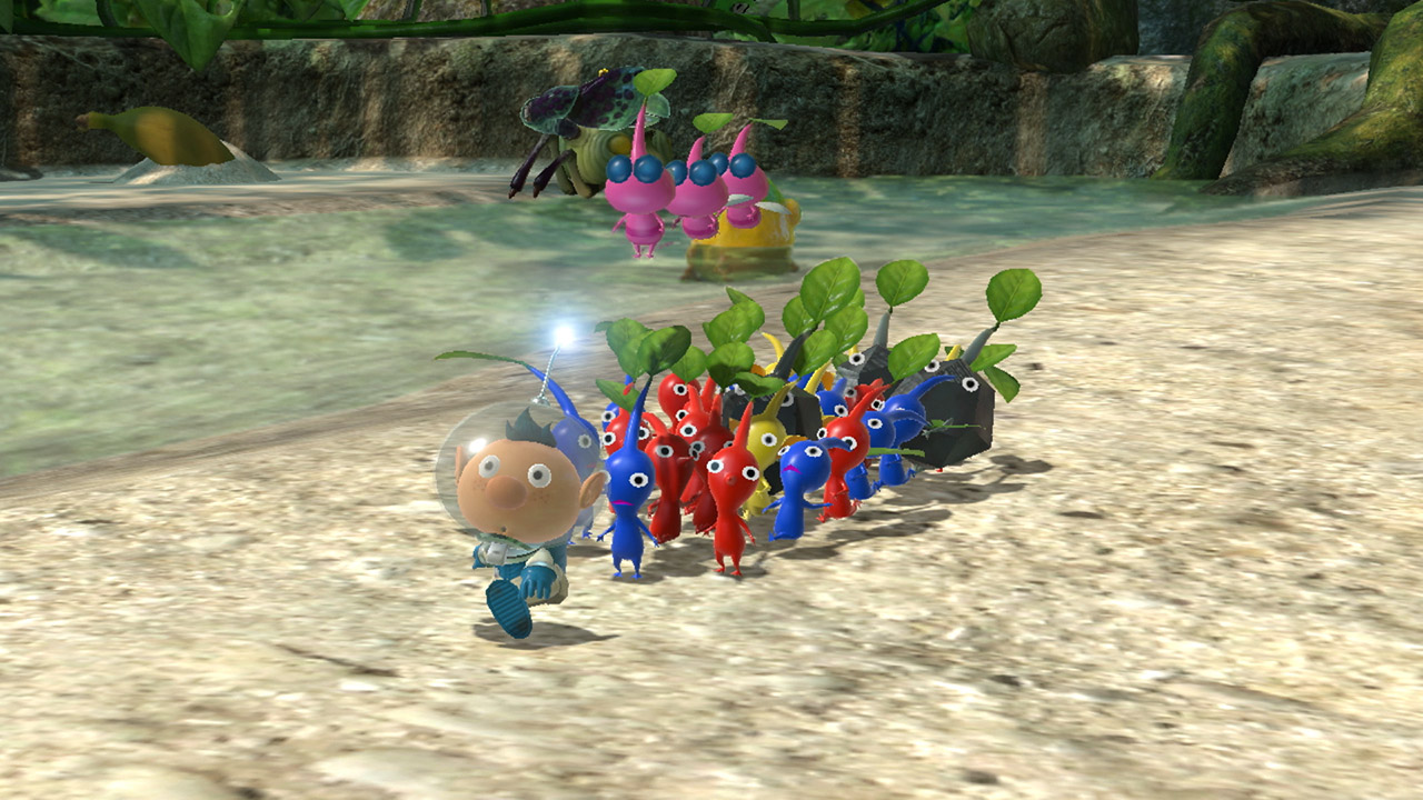 Pikmin 3 Deluxe, Pikmin 3 Switch, Switch, Nintendo Switch, North America, Europe, Nintendo, release date, features, trailer, screenshots