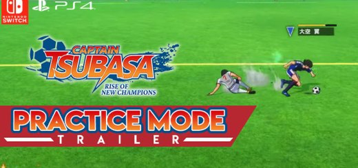 Captain Tsubasa: Rise of New Champions, PS4, PlayStation 4, Bandai Namco Entertainment, Nintendo Switch, North America, US, release date, features, price, pre-order now, trailer, Captain Tsubasa game 2020, Practice Mode Trailer, Practice Mode Feature, update