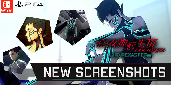 Shin Megami Tensei III: Nocturne HD Remaster New Screenshots