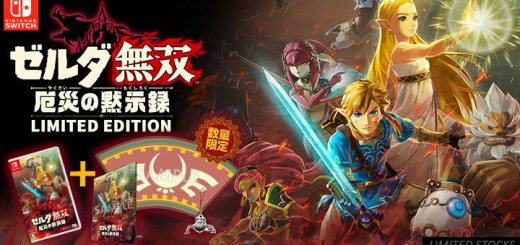 Hyrule Warriors, Hyrule Warriors: Age of Calamity, Nintendo Switch, Switch, US, Europe, Japan, Asia, gameplay, features, release date, price, trailer, screenshots, Nintendo, Koei Tecmo, Limited Edition, Treasure Box