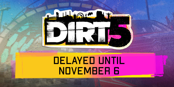 Dirt 5, DiRT 5, XONE, Xbox One, PS4, Xbox X Series, PS5, PlayStation 5, PlayStation 4, EU, Europe, Gameplay, Features, price, pre-order now, Codemasters, trailer, screenshots, Asia, North America, Dirt series, Delayed Release, New Release date, Playground Mode, Playgrounds Trailer