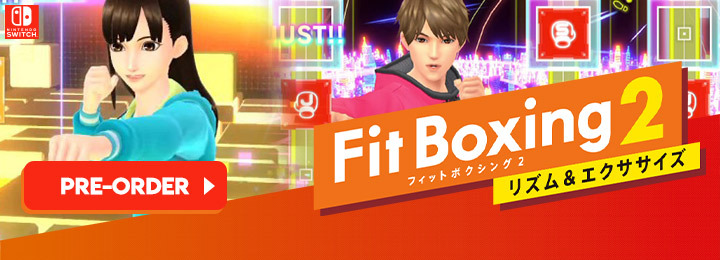 Fitness Boxing, Fitness Boxing 2: Rhythm & Exercise, Fitness Boxing 2, Nintendo Switch, Switch, Japan, gameplay, features, release date, price, trailer, screenshots