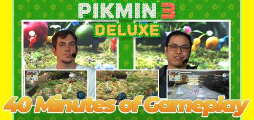 Pikmin 3 Deluxe, Pikmin 3 Switch, Switch, Nintendo Switch, North America, Europe, Nintendo, release date, features, trailer, screenshots, Japan, Pre-order now, new trailer, Pikmin 3 [Deluxe Edition], 40 minutes Gameplay, Nintendo Treehouse livestream, Demo Now Available
