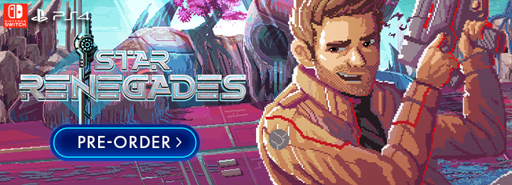 Star Renegades, Nintendo Switch, Switch, PS4, PlayStation 4, Japan, gameplay, features, release date, price, trailer, screenshots
