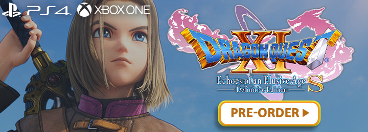 Dragon Quest XI: Echoes of an Elusive Age S [Definitive Edition], DragonQuest XI S, Dragon Quest XI Defintive Edition, Dragon Quest XI: Sugi Sarishi Toki o Motomete S, Dragon Quest 11: Echoes of an Elusive Age S, Dragon Quest XI, PS4, PlayStation 4, XONE, Xbox One, Europe, North America, Asia, release date, price, pre-order, features, Trailer, Screenshots, Square Enix