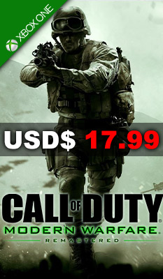CALL OF DUTY: MODERN WARFARE REMASTERED Activision