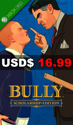 BULLY: SCHOLARSHIP EDITION Take-Two Interactive