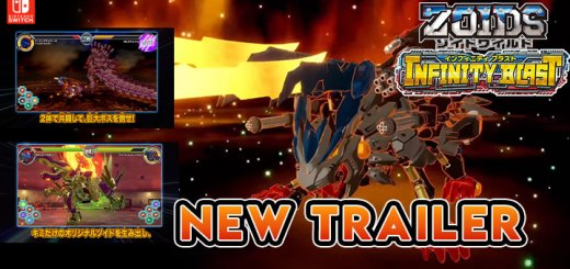 Zoids Wild: Infinity Blast, Zoids Wild Infinity Blast, Zoids Wild, Japan, Switch, Nintendo Switch, release date, price, pre-order, features, new trailer, screenshots, Takara Tomy, update, news, Customization Trailer