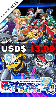 DIGIMON UNIVERSE APPLI MONSTERS Bandai Namco Games