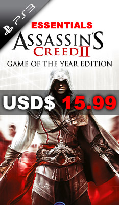 ASSASSIN'S CREED II: GAME OF THE YEAR EDITION (ESSENTIALS) Ubisoft