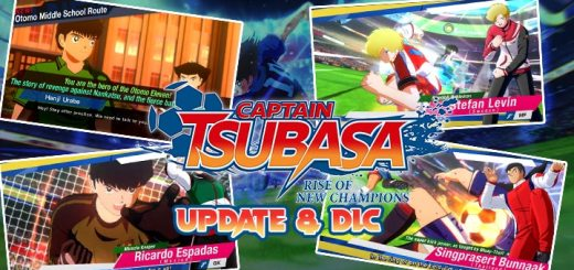 Captain Tsubasa: Rise of New Champions, PS4, PlayStation 4, Bandai Namco Entertainment, Nintendo Switch, North America, US, release date, features, price, buy now, trailer, Captain Tsubasa game 2020, update, version 1.10 update, DLC, free update, DLC character