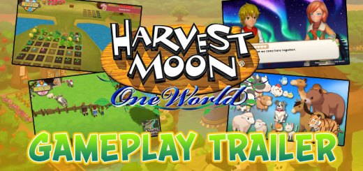 Harvest Moon: One World, Harvest Moon, Rising Star Games, trailer, features, Europe, North America, US, Nintendo Switch, Switch, gameplay, update