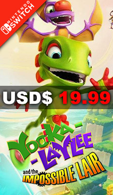 YOOKA-LAYLEE AND THE IMPOSSIBLE LAIR Sold Out Sales & Marketing Ltd. (Sold Out)