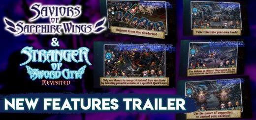 Saviors of Sapphire Wings, Stranger of Sword City Revisited, Saviors of Sapphire Wings & Stranger of Sword City Revisited, Saviors of Sapphire Wings/ Stranger of Sword City Revisited, Switch, Nintendo Switch US, North America, Europe, release date, price, pre-order, Trailer, Screenshots, NIS America, Experience Inc, New Features Trailer, Saviors of Sapphire Wings New Features
